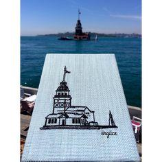 """65 Beğenme, 16 Yorum - Instagram'da Örgüce (@orguce): """"Haftalardır fotoğrafını çekemediğim için paylaşamadığım defterciğim😻 #örgüce #etamin #etaminişi…"""" Kanvas Art, Amazing Gardens, Embroidery Patterns, Istanbul, Cross Stitch, Knitting, Canvas, Handmade, Crafts"""