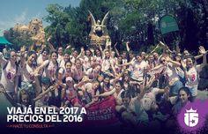 Con #enjoy15 Viajá en el 2017 a precio del 2016!    Consultanos.