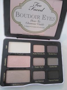 Looking for a new neutral based eye shadow palette? Check out this Too Faced Boudoir Eye review to see why it's a must have and check out some swatches.
