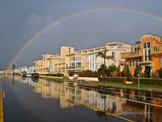 Esplanade Rainbow, Redondo Beach Ca.  Photo: Randy Ruby