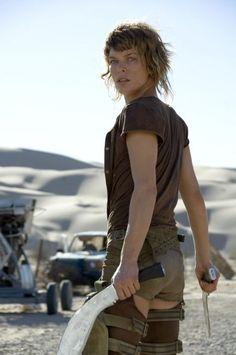 Milla Jovovich as Alice (Resident Evil film series)
