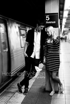 Hailey & Brad NYC Engagements