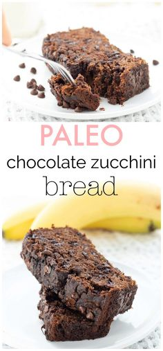 This chocolate zucchini bread is not only moist and fudgey, it's also full of nutrients! Make up a loaf for the ultimate snack or treat with benefits! {Paleo, Gluten-free, Dairy-free, Refined sugar-free}