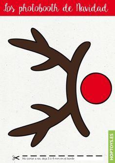 Accesorios para una sesión de fotos divertida en Navidad-HopToys