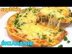 Chleb w jajku jeszcze smaczniejszy 👌 dlaczego wcześniej tak nie robiłam - YouTube Pizza, Baked Potato, Quiche, Mashed Potatoes, Cooking, Breakfast, Ethnic Recipes, Youtube, Haha
