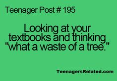 uh yeah !! i mean all they do is just sit in your locker all year :p
