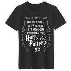 Harry Potter, une Obsession à 9 !io – Créez et ven… Mode Harry Potter, Harry Potter Shirts, Harry Potter Outfits, Harry Potter Theme, Hogwarts, Geek Girl Fashion, Hermione Granger, Funny Tshirts, Shirt Designs