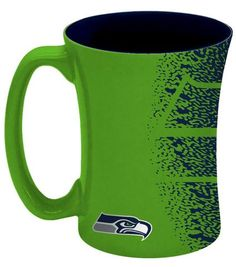 Welcome NFL fans enjoy your Seattle Seahawks Officially Licensed team tailgationg gear. 14 ounce sculpted ceramic mug decorated with bright and colorful NFL team graphics and colors. Seahawks Gear, Seahawks Fans, Seahawks Football, Seattle Seahawks, Mocha Coffee, Coffee Mugs, Seattle Coffee, Mug Decorating, Sup Surf