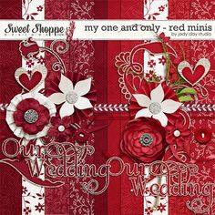 My One And Only - Red Minis by Jady Day Studio