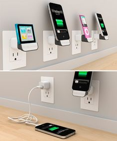 Bluelounge MiniDock Gets Your Charging iDevice Off The Floor...want! #product_design