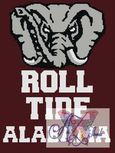 Roll Tide 3 Pack Graphs and Written Patterns