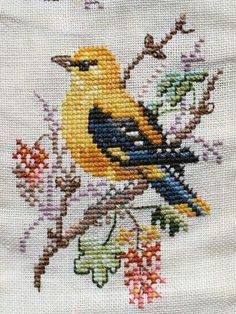 Thrilling Designing Your Own Cross Stitch Embroidery Patterns Ideas. Exhilarating Designing Your Own Cross Stitch Embroidery Patterns Ideas. Cross Stitch Needles, Cross Stitch Bird, Simple Cross Stitch, Cross Stitch Animals, Cross Stitch Charts, Cross Stitch Designs, Cross Stitching, Cross Stitch Embroidery, Embroidery Patterns