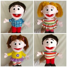Home made and handmade puppets and soft doll for your kids ,SMS/WA: 08129597095 (7:00-18:00 WIB)