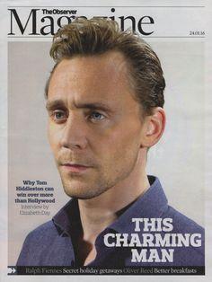 Tom Hiddleston - The Observer Magazine 24.1.2016 [1/5]