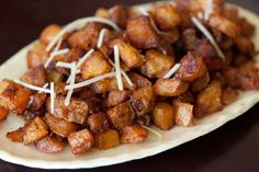 Parmesan Roasted Potatoes | via What's Gaby Cooking - i used red potatoes & added parsley & a little rosemary.