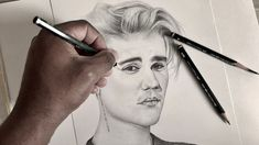 How To Draw Justin Bieber: Step by Step (PART TWO)