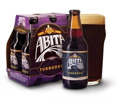 Abita Turbodog® is a dark brown ale brewed with pale, caramel, and chocolate malts and Willamette hops. This combination gives Turbodog® its rich body and color and a sweet chocolate, toffee-like flavor. This smooth and creamy medium-bodied ale is made with the perfect measure of hops to balance the sweetness of the malts.