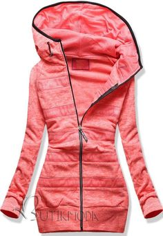 Sweatjacke korall blau New York