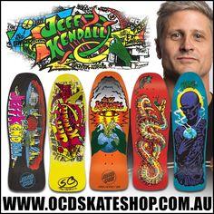 Jeff Kendall - Santa Cruz Skateboards