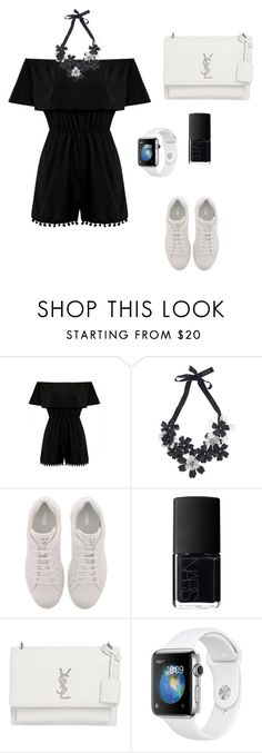 """Untitled #95"" by adzkiaghea ❤ liked on Polyvore featuring Forest of Chintz, Fendi, NARS Cosmetics and Yves Saint Laurent"