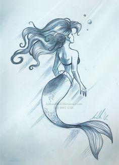 Mermaid drawings, mermaid tattoos, ariel mermaid, mermaid fairy, ariel the Ariel Mermaid, Mermaid Fairy, Ariel The Little Mermaid, Mermaid Drawings, Mermaid Tattoos, Mermaid Sketch, Drawing Sketches, Art Drawings, Mermaids And Mermen