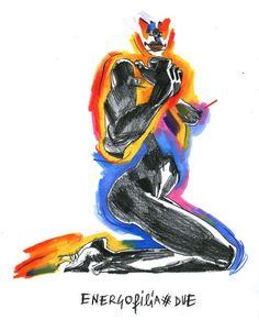 Alessandro  Martorelli Expressive Art, Project 3, 3d Rendering, Painting & Drawing, Doodles, Batman, Collage, Sketches, Superhero