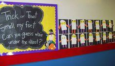 haloween craft idea for schools, preschool, kindergarten