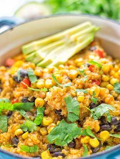 Quinoa Enchilada with Mexican Street Corn   #vegan #glutenfree #contentednesscooking #plantbased #dairyfree