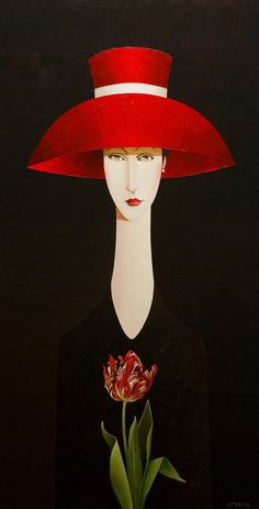 Danny McBride, artist, original acrylic paintings at White Rock Gallery Woman Painting, Painting & Drawing, Danny Mcbride, Art Moderne, Whimsical Art, Art Plastique, Portrait Art, Portraits, Beautiful Paintings