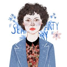 Dory from Search Party by Ana Pedreira #searchparty #aliashawkat #illustration http://annapedreira.blogspot.com.es/