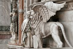 St. Mark's Winged Lion in Venice