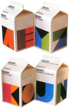 Australian Milk Packaging from the 80s