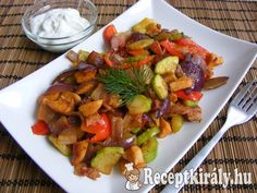 Gyors, serpenyős csirke | Receptkirály.hu Meat Recipes, Cooking Recipes, Hungarian Recipes, Kung Pao Chicken, Ratatouille, Poultry, Food To Make, Food And Drink, Gluten Free