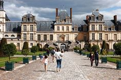 A castle surrounded by a forest that served as a hunting ground for kings, Fontainebleau gets a fraction of the visitors of Versailles (300,000 a year, as opposed to 7.5 million) and is 34 miles southeast of Paris.