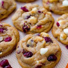 Les cookies aux cranberries