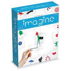 Imagine - Creativo Juego De Cartas Transparentes Asmodee Editions AMD-IMA01ES Kinuma.com