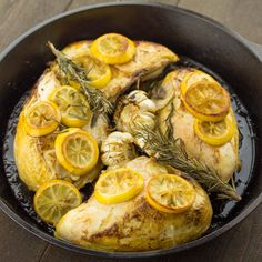 Lemon and Garlic Roasted Chicken