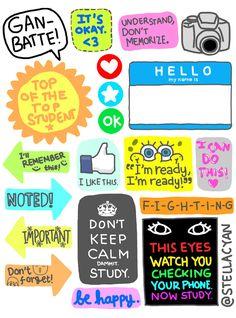 Study, Study! Sticker