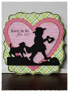 Houses Built of Cards: Valentine card with Cricut Craftroom Basics-ACY