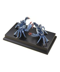 Dueling Blue Crab Sculpture