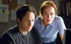 "We last saw special agents Fox Mulder (David Duchovny) and Dana Scully (Gillian Anderson) in feature film, ""The X-Files: I Want to Believe."" Will Fox bring them back to TV? Gillian Anderson David Duchovny, The X Files, Dana Scully, Seinfeld, Chris Carter, Sci Fi Tv Shows, Believe, Best Sci Fi, Star David"