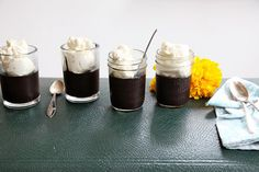 Pudding in Jars.