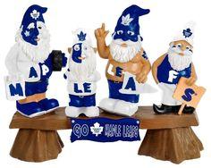 Toronto Maple Leafs Garden Gnome - Fans on Bench Z157-8686752945