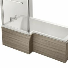 Ideal Standard Concept 1500mm Square Shower Bath Left Hand Front Panel - E0516 - Ideal Standard Bathrooms
