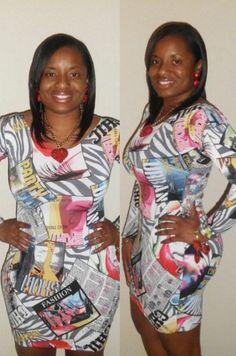 Chic Fashion Long-sleeve Mini Dress