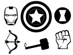 Doodle Craft...: The AVENGERS T-shirt and Stencil!
