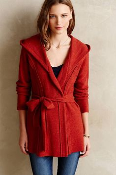 Rosie Niera Wrapped Wool Jacket - anthropologie