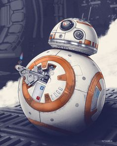 Bottleneck Gallery has teamed with ACME Archives to release two new Star Wars: The Force Awakens Prints by artists Mark Englert And Chris Skinner. Star Wars Bb8, Star Wars Droids, Star Trek, Star Wars Quotes, Star Wars Humor, Street Art, Street Signs, Images Star Wars, Star Wars Prints