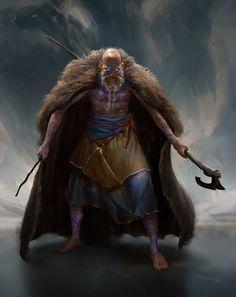 As ilustrações de fantasia para games de Even Amundsen