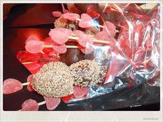Ramo de fresas con chocolate y gomitas !